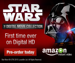 Star Wars, for the first time ever on Digital HD