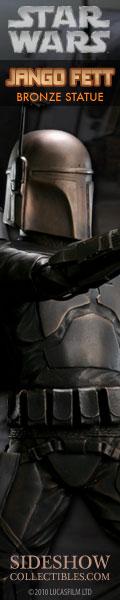 Jango Fett Star Wars Bronze Statue